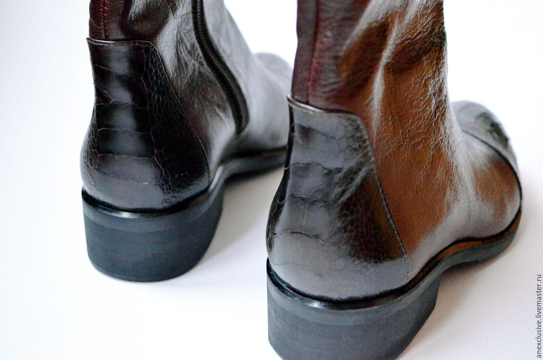 Boots 'Ostrich Chicks', High Boots, St. Petersburg,  Фото №1