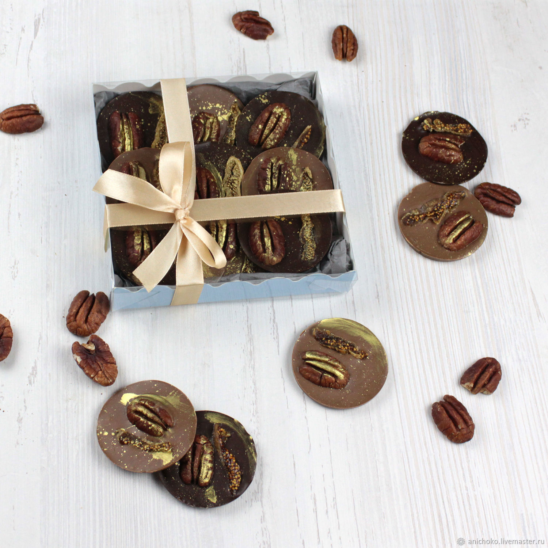 Шоколадные медианты с пеканом и инжиром, Кулинарные сувениры, Москва,  Фото №1