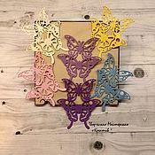 """Вырубки для скрапбукинга ручной работы. Ярмарка Мастеров - ручная работа Вырубка для скрапбукинга """"Бабочки"""". Handmade."""
