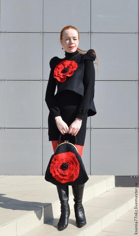 """Пиджаки, жакеты ручной работы. Ярмарка Мастеров - ручная работа. Купить Жакет женский """"По Стендалю - """"Красное и черное"""". Handmade."""