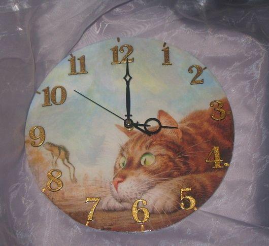 """Часы для дома ручной работы. Ярмарка Мастеров - ручная работа. Купить Настенные часы """"Ух ты..."""" Часы настенные.. Handmade."""