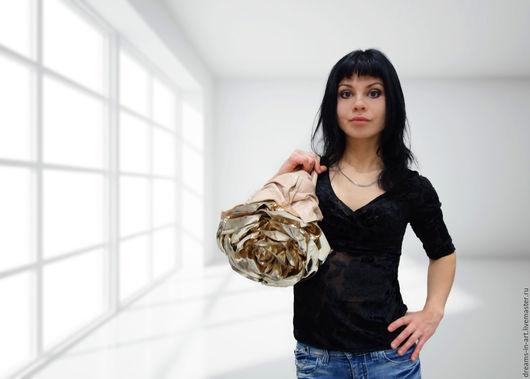 """Женские сумки ручной работы. Ярмарка Мастеров - ручная работа. Купить Эксклюзивная кожаная сумка """"Иветта"""" (новое поколение роз). Handmade."""
