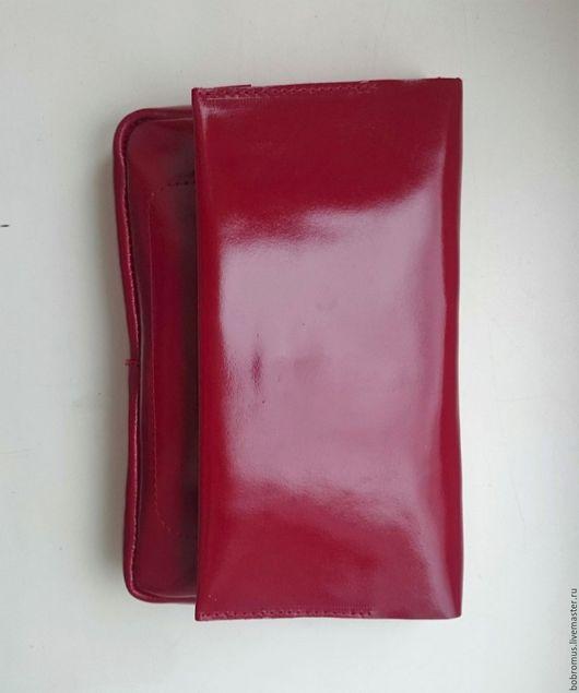 Женские сумки ручной работы. Ярмарка Мастеров - ручная работа. Купить Сумка клатч трансформер. Handmade. Бордовый, повседневная сумка