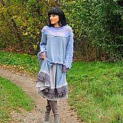 Одежда ручной работы. Ярмарка Мастеров - ручная работа Костюм женский в БОХО стиле (368). Handmade.