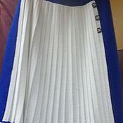 """Одежда ручной работы. Ярмарка Мастеров - ручная работа Комбинированная юбка  """" 2 в одном """". Handmade."""