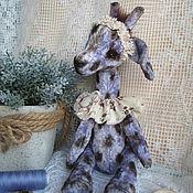 Куклы и игрушки ручной работы. Ярмарка Мастеров - ручная работа Жирафик Софи. Handmade.