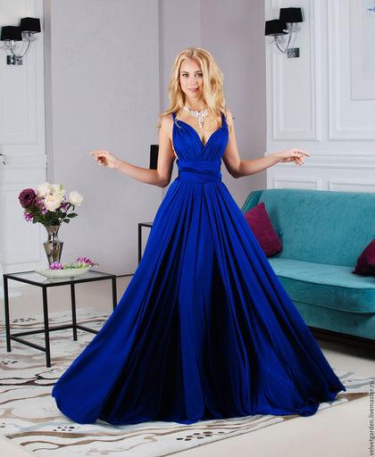Платье вечернее длинное в пол, платье трансформер,платье подружки невесты