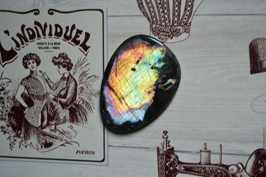 Для украшений ручной работы. Ярмарка Мастеров - ручная работа. Купить Лабрадорит спектролит. Кабошон 50 Х 35 Х 4,5. Handmade.
