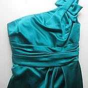 Винтаж ручной работы. Ярмарка Мастеров - ручная работа Атласное платье. Handmade.