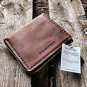 Кошельки ручной работы. Ярмарка Мастеров - ручная работа Мини кошелек кожаный + гравировка. Handmade.
