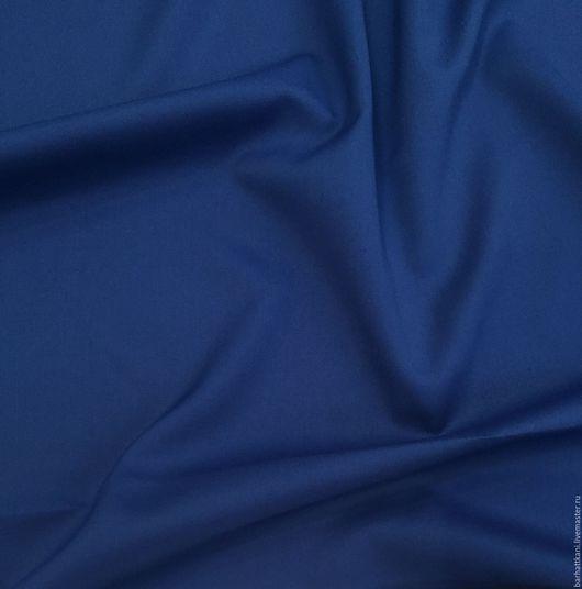 Шитье ручной работы. Ярмарка Мастеров - ручная работа. Купить -20% Итальянская костюмная шерсть с кашемиром. Handmade. Синий