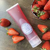 handmade. Livemaster - original item Strawberry gel face peeling mask. Handmade.