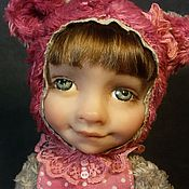"""Куклы и игрушки ручной работы. Ярмарка Мастеров - ручная работа Тедди Долл """"Настенька"""". Handmade."""
