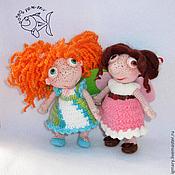 Материалы для творчества handmade. Livemaster - original item MK knitting Mischievous Fairy. Handmade.