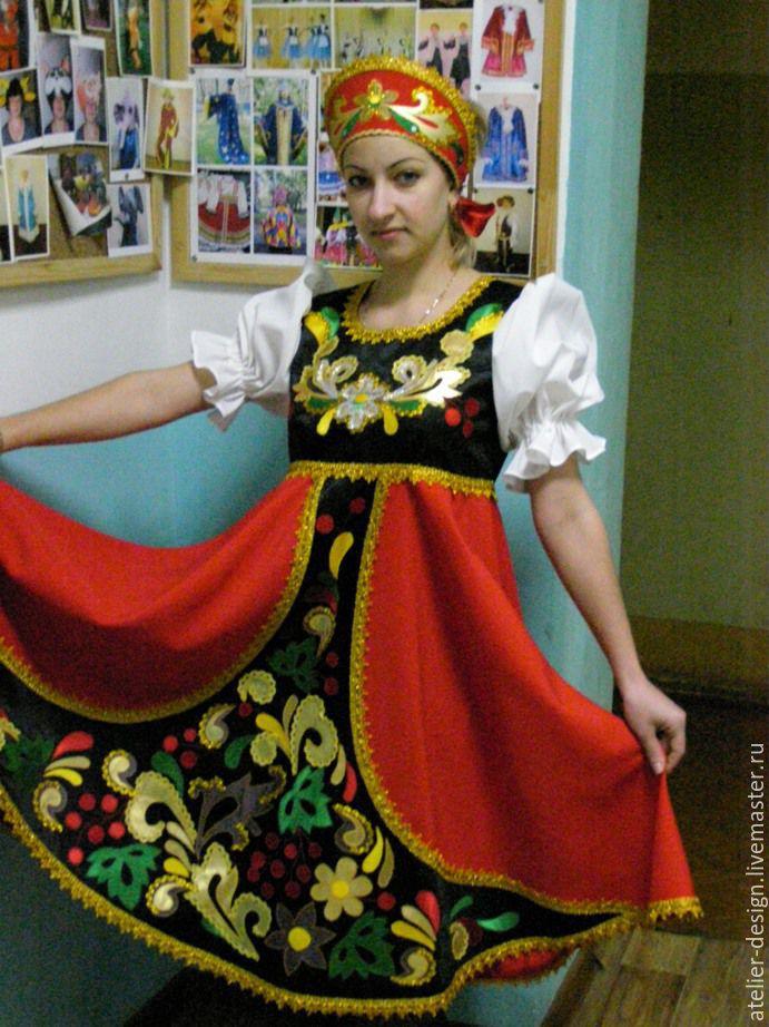 Мастер класс по русско народным танцам