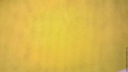 Шитье ручной работы. Ярмарка Мастеров - ручная работа. Купить Батист желтый ( хлопок 60%, шелк 40%) Германия. Handmade.