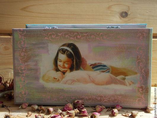 """Шкатулки ручной работы. Ярмарка Мастеров - ручная работа. Купить Шкатулка """"Мамины принцессы"""".. Handmade. Розовый, шкатулка для украшений"""