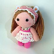 Куклы и игрушки ручной работы. Ярмарка Мастеров - ручная работа вязаный пупс модница. Handmade.