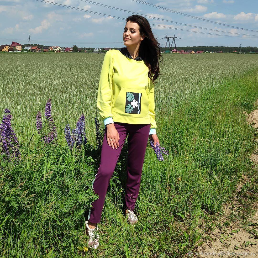 Спортивный костюм (бренд Svetlana Knjazeva): арт.1257 (017) + 1257 (05, Спортивные костюмы, Москва,  Фото №1