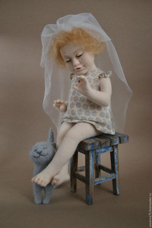 Коллекционные куклы ручной работы. Ярмарка Мастеров - ручная работа. Купить Невеста. Handmade. Кукла ручной работы, трессы для кукол