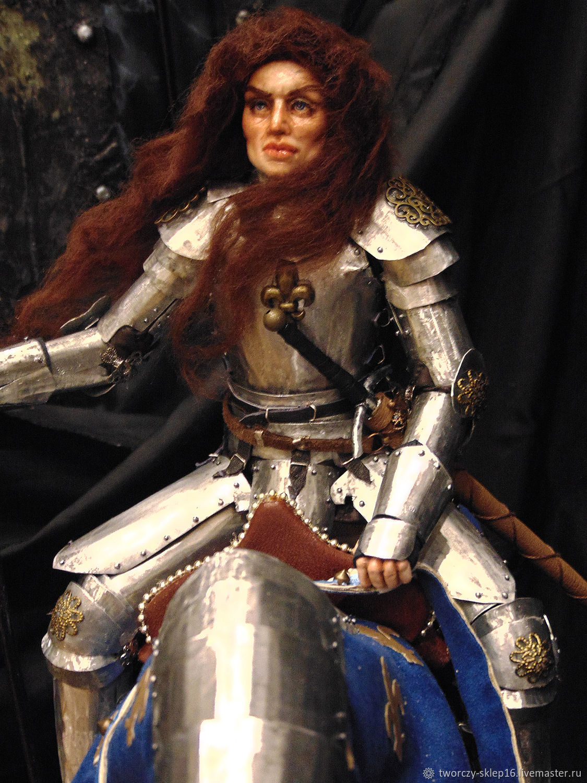 Авторская кукла Жанна д'Арк, Портретная кукла, Минск,  Фото №1