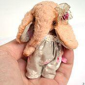 Куклы и игрушки ручной работы. Ярмарка Мастеров - ручная работа Мини слоник. Handmade.