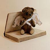 Куклы и игрушки ручной работы. Ярмарка Мастеров - ручная работа Авторский Медведь Тедди Маленький ангел. Handmade.