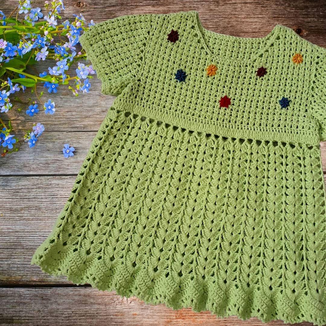Платье для девочки Весна