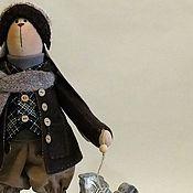 Куклы и игрушки handmade. Livemaster - original item Bunny Tilda c horse. Handmade.