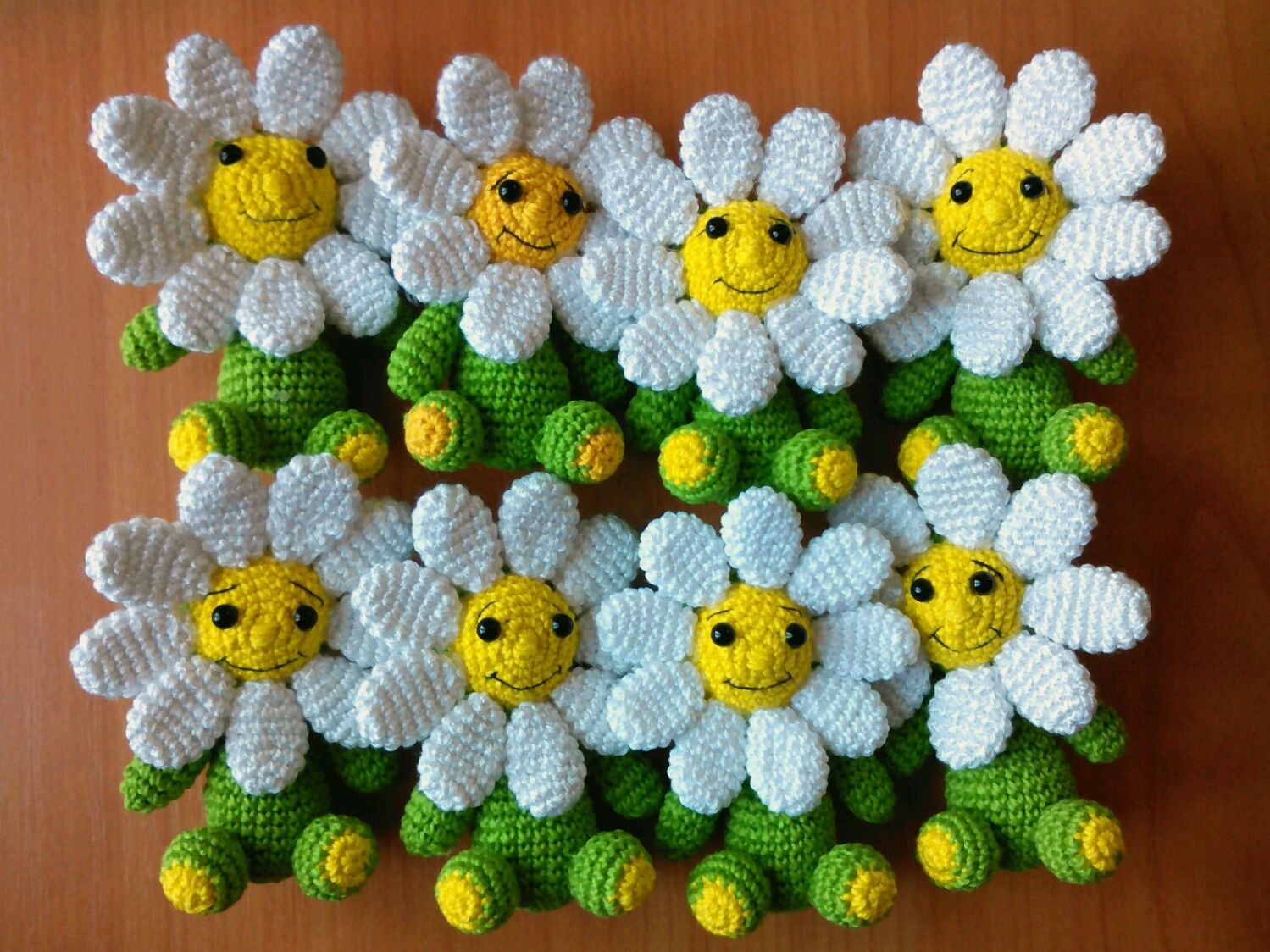 Daisy knitted daisy gift on march 8 shop online on livemaster party decor handmade livemaster handmade buy daisy knitted daisy izmirmasajfo