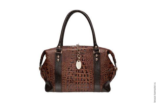 Женские сумки ручной работы. Ярмарка Мастеров - ручная работа. Купить Женская кожаная сумка 420. Handmade. Кожаная сумка