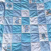 Детское одеяло ручной работы. Ярмарка Мастеров - ручная работа Одеяло крошка Сью. Handmade.