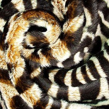 Materials for creativity handmade. Livemaster - original item Fabric: Italian faux fur. Handmade.