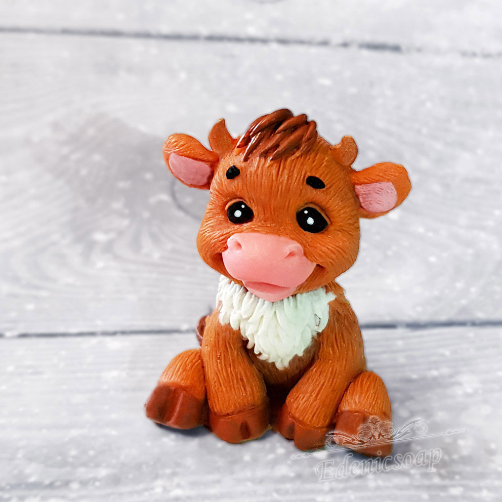 Soap 'Little bull' handmade gift for the New year, Soap, Moscow,  Фото №1