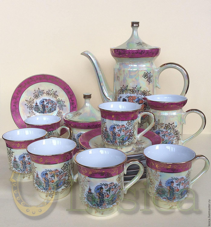 Set coffee (mocha) Geisha SEP Germany, Vintage sets, Ramenskoye,  Фото №1