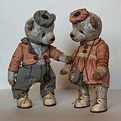 Куклы и игрушки ручной работы. Ярмарка Мастеров - ручная работа Мирон и Алька.... Handmade.
