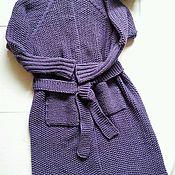 Одежда ручной работы. Ярмарка Мастеров - ручная работа Кардиган крупной вязки. Handmade.
