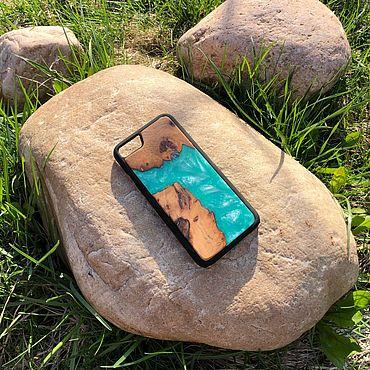 Сумки и аксессуары ручной работы. Ярмарка Мастеров - ручная работа Чехол река на iPhone 7/8. Handmade.