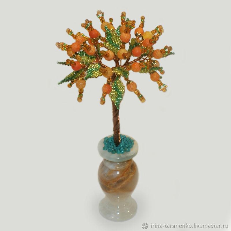 Yellow agate tree ' Agate Rhapsody`