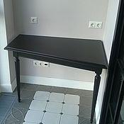 Для дома и интерьера handmade. Livemaster - original item The console table on two turned legs. Handmade.