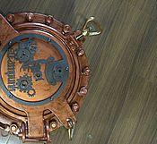 Для дома и интерьера ручной работы. Ярмарка Мастеров - ручная работа Морской иллюминатор декорированный в стимпанк стиле. Handmade.