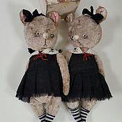 Куклы и игрушки ручной работы. Ярмарка Мастеров - ручная работа Девочки мышки. Handmade.