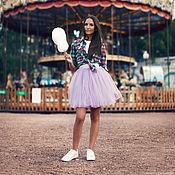 Одежда ручной работы. Ярмарка Мастеров - ручная работа Фатиновая мини юбка. Handmade.