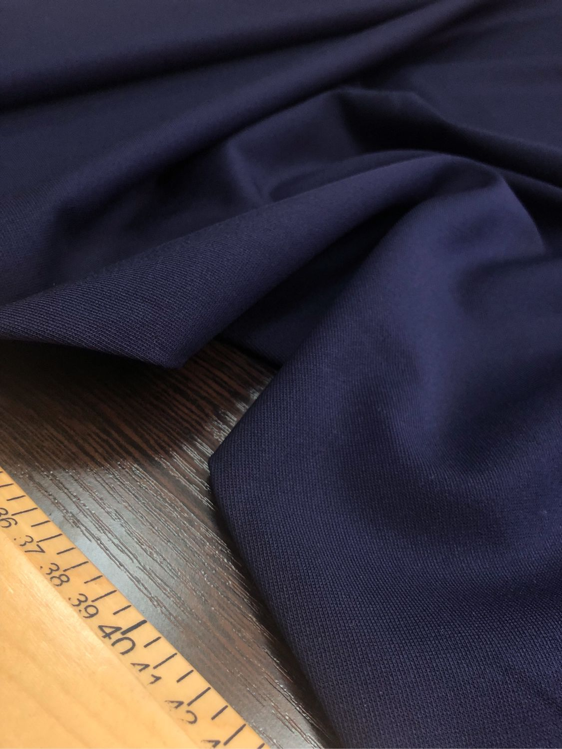 The fabric is Italian wool suiting 'Ink', Fabric, Taganrog,  Фото №1