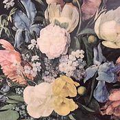 Винтаж handmade. Livemaster - original item Reproduction of a Soviet painting large 1960s.FRUITS and FLOWERS.FILL PLASTIC. Handmade.