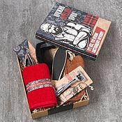 Подарочные боксы ручной работы. Ярмарка Мастеров - ручная работа Подарочный набор для мужчин. Handmade.
