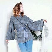 Одежда handmade. Livemaster - original item Feminine Pajamas-Kimono made of natural cotton. Handmade.