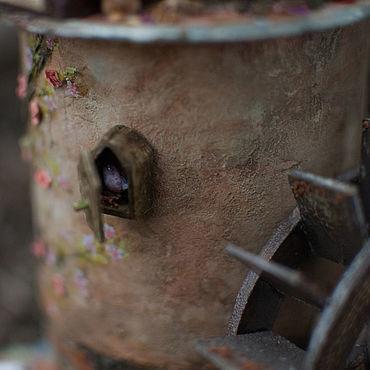 Для дома и интерьера ручной работы. Ярмарка Мастеров - ручная работа Домик - комод-ночник. Handmade.