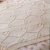 Для дома и интерьера handmade. Livemaster - original item Plaid knitted children`s Fantasy. Handmade.