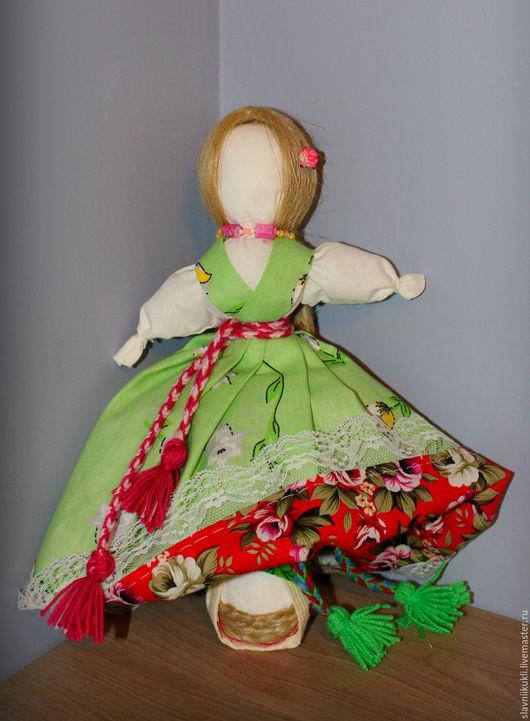 """Народные куклы ручной работы. Ярмарка Мастеров - ручная работа. Купить Куколка """"Девка Баба"""". Handmade. Комбинированный, подарок девушке"""
